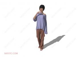 人物00026-SketchUp草图大师模型