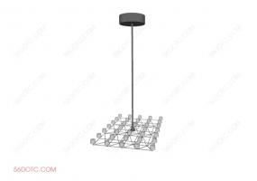灯具000107-SketchUp草图大师模型