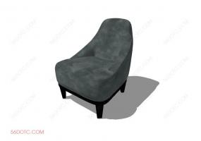 沙发00075-SketchUp草图大师模型