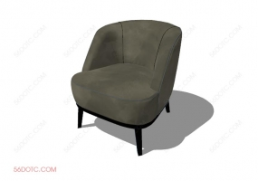 沙发00076-SketchUp草图大师模型