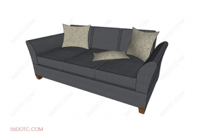 沙发00079-SketchUp草图大师模型