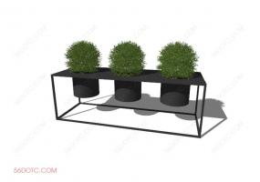 植物000273-SketchUp草图大师模型