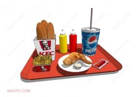 食物00043-SketchUp草图大师模型