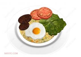 食物00048-SketchUp草图大师模型