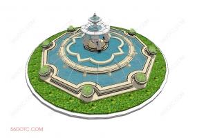 园林景观00020-SketchUp草图大师模型