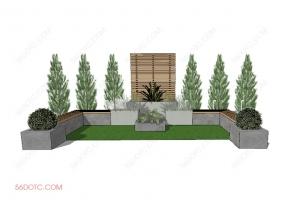 园林景观00022-SketchUp草图大师模型