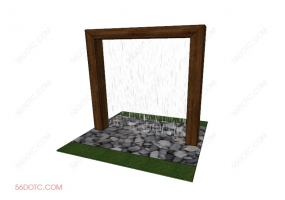 园林景观00023-SketchUp草图大师模型