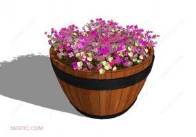 植物000291-SketchUp草图大师模型