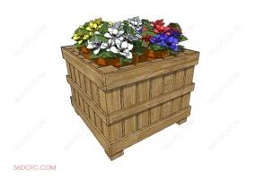 植物000292-SketchUp草图大师模型