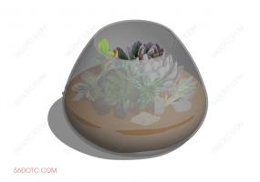 植物000306-SketchUp草图大师模型