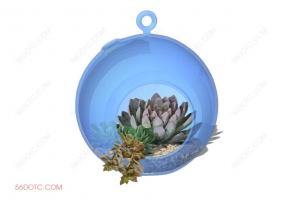 植物000307-SketchUp草图大师模型