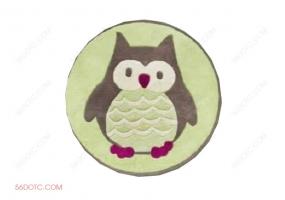 布艺00042-SketchUp草图大师模型:圆形地毯