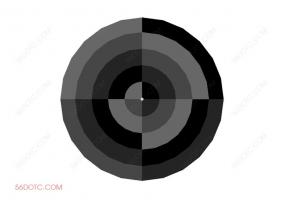 布艺00048-SketchUp草图大师模型:圆形地毯