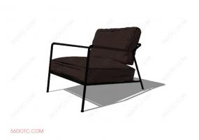 椅子00097-SketchUp草图大师模型