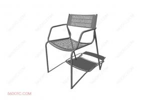 椅子00099-SketchUp草图大师模型