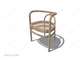 椅子000100-SketchUp草图大师模型