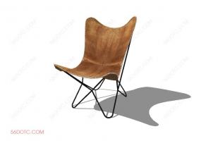 椅子000101-SketchUp草图大师模型