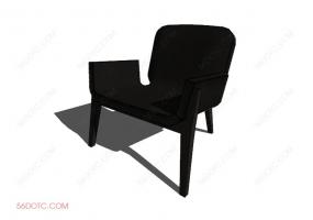 椅子000102-SketchUp草图大师模型