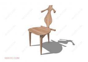 椅子000104-SketchUp草图大师模型