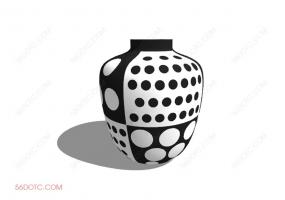 陈设000178-SketchUp草图大师模型:花瓶