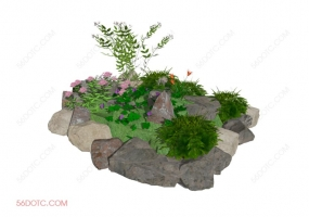 园林景观00043-SketchUp草图大师模型