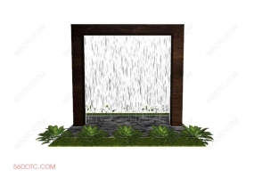 园林景观00046-SketchUp草图大师模型