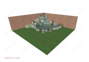 园林景观00047-SketchUp草图大师模型