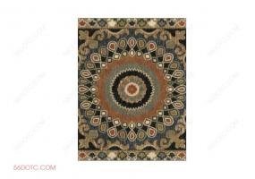布艺00065-SketchUp草图大师模型:地毯