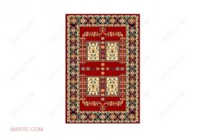 布艺00071-SketchUp草图大师模型:地毯