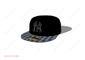 服装00074-SketchUp草图大师模型:帽子