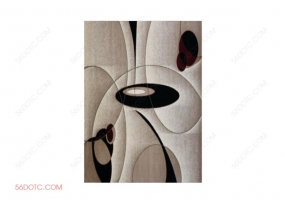 布艺00076-SketchUp草图大师模型:地毯