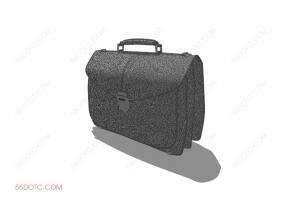服装00081-SketchUp草图大师模型:箱包
