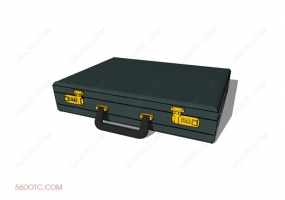 服装00082-SketchUp草图大师模型:箱包