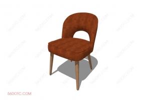 椅子000129-SketchUp草图大师模型