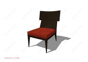 椅子000130-SketchUp草图大师模型