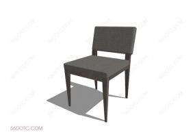 椅子000131-SketchUp草图大师模型