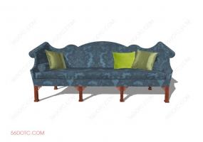 沙发000121-SketchUp草图大师模型