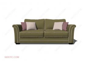 沙发000122-SketchUp草图大师模型