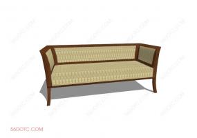 沙发000125-SketchUp草图大师模型