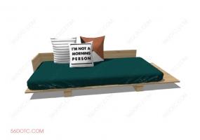 沙发000128-SketchUp草图大师模型