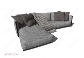 沙发000131-SketchUp草图大师模型
