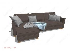 沙发000132-SketchUp草图大师模型