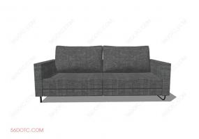 沙发000134-SketchUp草图大师模型