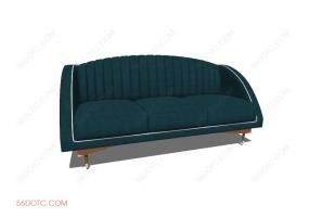 沙发000136-SketchUp草图大师模型