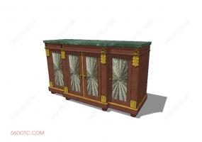 储物柜0001-SketchUp草图大师模型