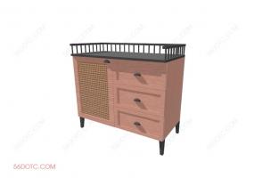 储物柜0005-SketchUp草图大师模型