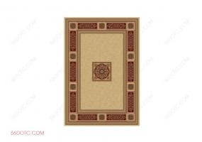 布艺00089-SketchUp草图大师模型:地毯