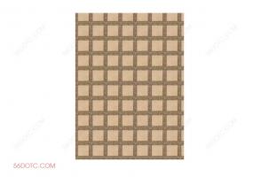 布艺00095-SketchUp草图大师模型:地毯