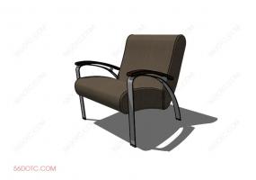 沙发000138-SketchUp草图大师模型
