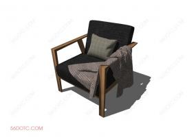 沙发000143-SketchUp草图大师模型